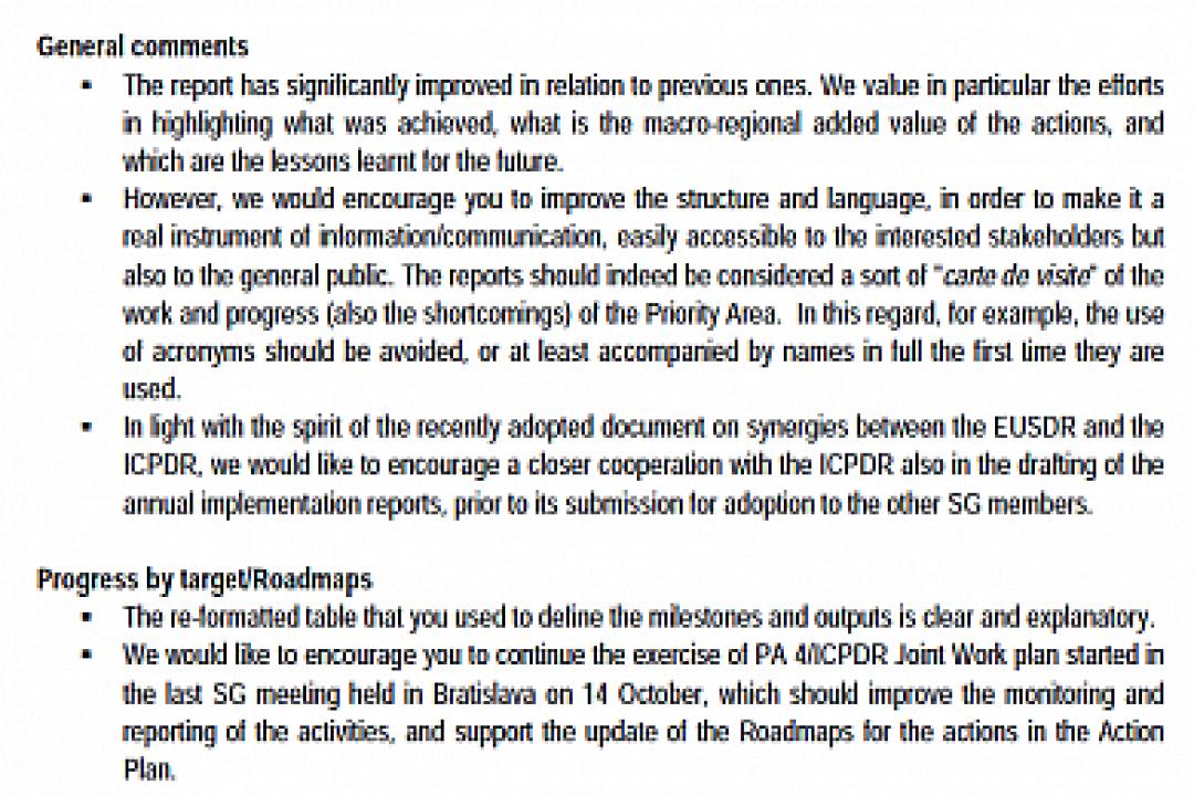 Progress Implementation Report – June 2013-June 2014