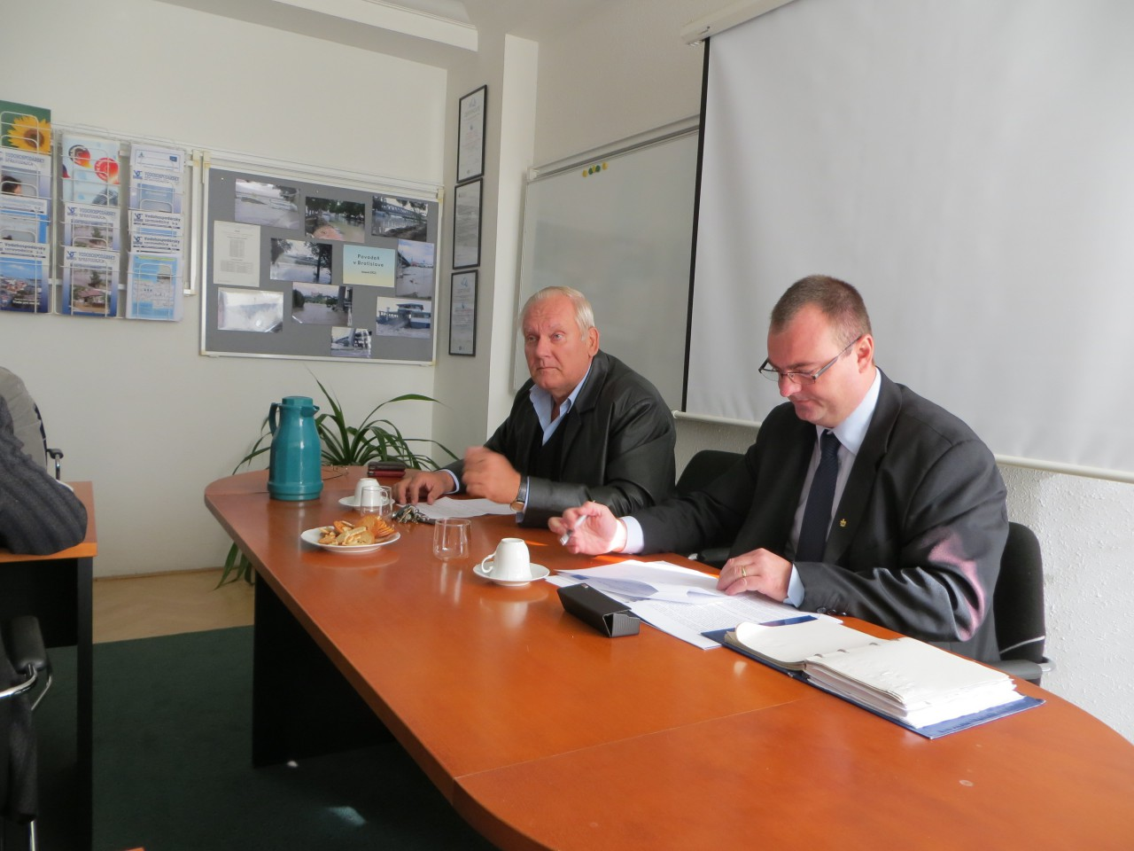 THE VISIT OF UKRAINIAN AND MOLDOVAN EXPERTS TO SLOVAKIA
