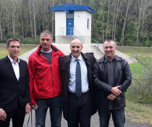 VISIT OF A BOSNIAN WATER EXPERT IN HUNGARY