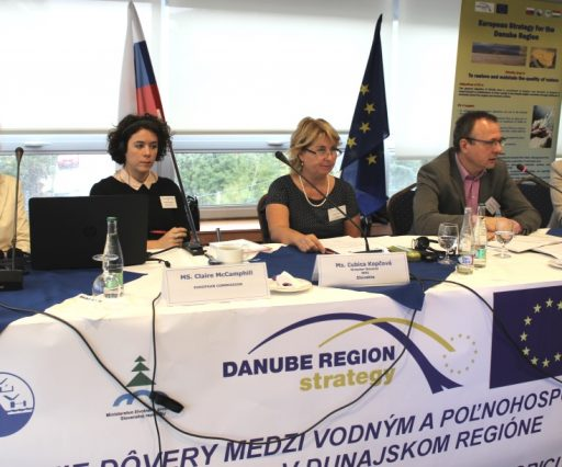 WORKSHOP TRUST-BUILDING BETWEEN WATER AND AGRICULTURE SECTORS IN THE DANUBE REGION