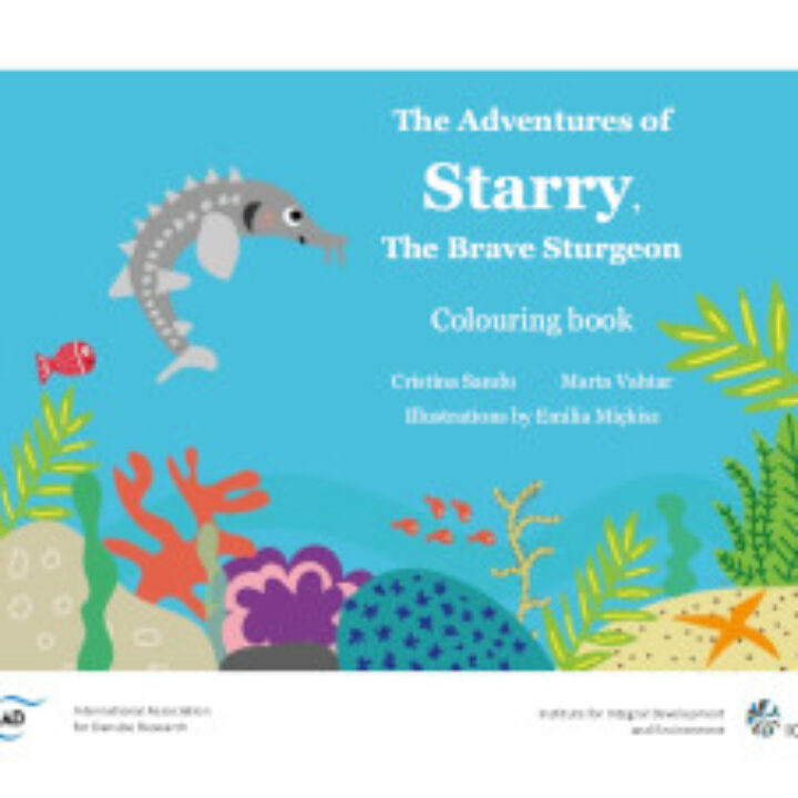 The Adventures of Starry, the Brave Sturgeon e-book developed by IAD