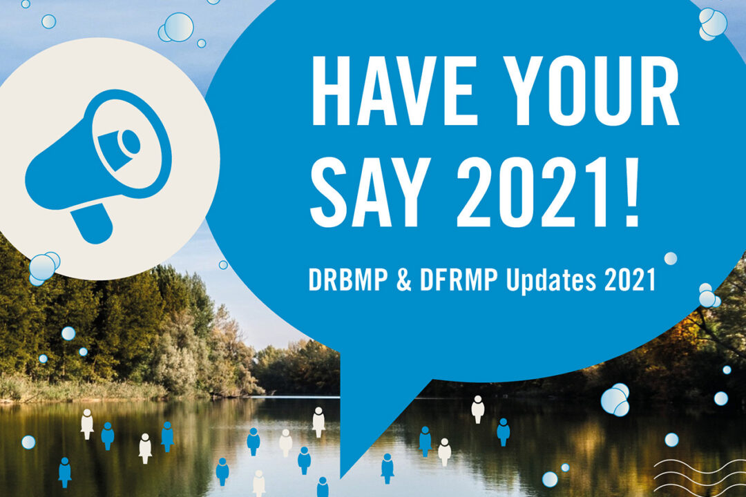 Public Consultation ongoing on Draft River Basin and Flood Risk Management Plans 2021